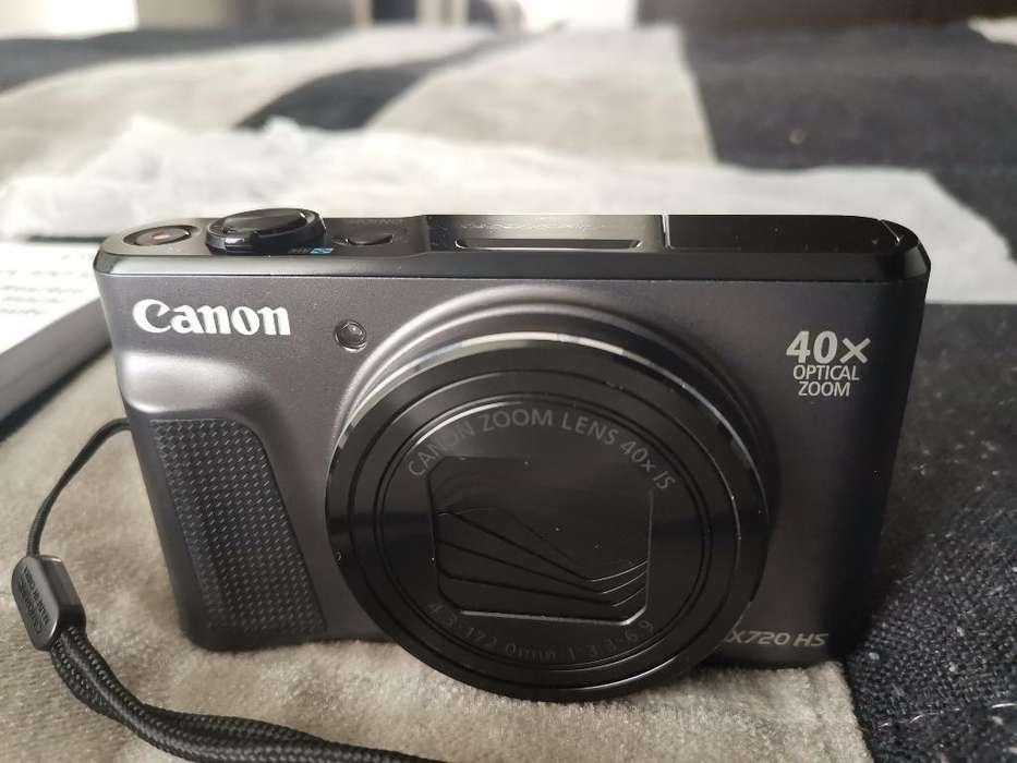 Canon, Casi Nueva,super Zoom 40 Mpx,caja