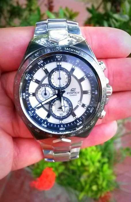 Reloj Casio Edifice Original, Estilo Deportivo, Uso Normal, Estado 9.5 de 10
