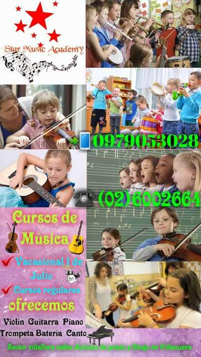 Clases de Música,cursos de música,vacacional maestros de música,clases de violín,piano,Guitarra,Batería