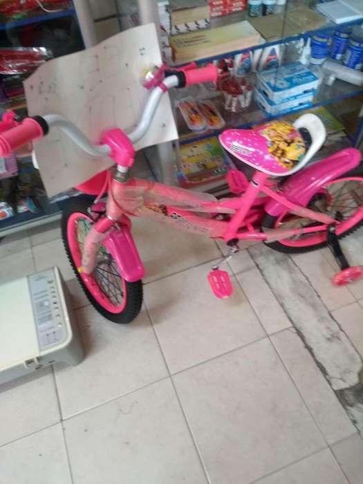 Vendo bicicleta para nia