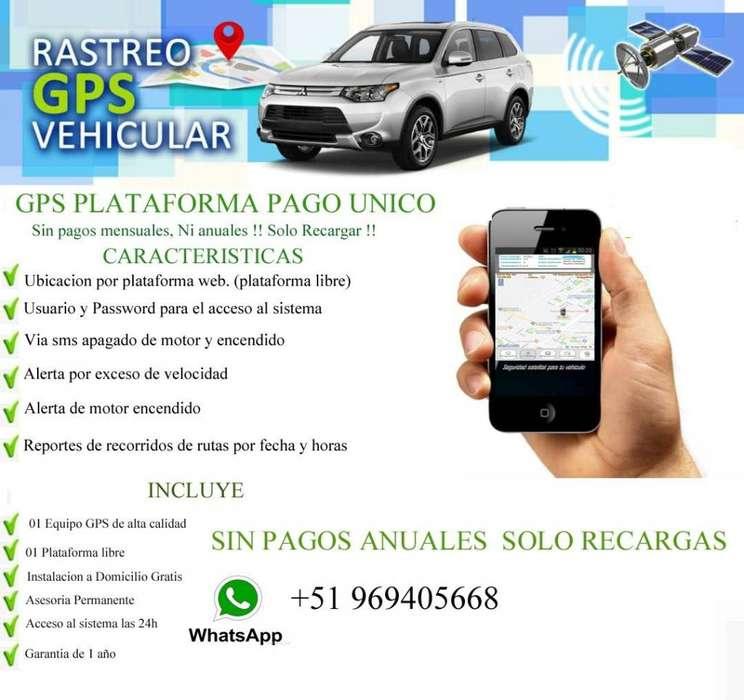 GPS RASTREO VEHICULAR