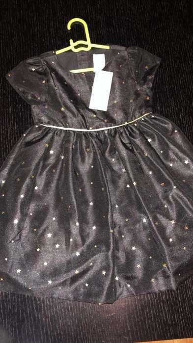 Vestido Gyboree Estrellas Talla 4t