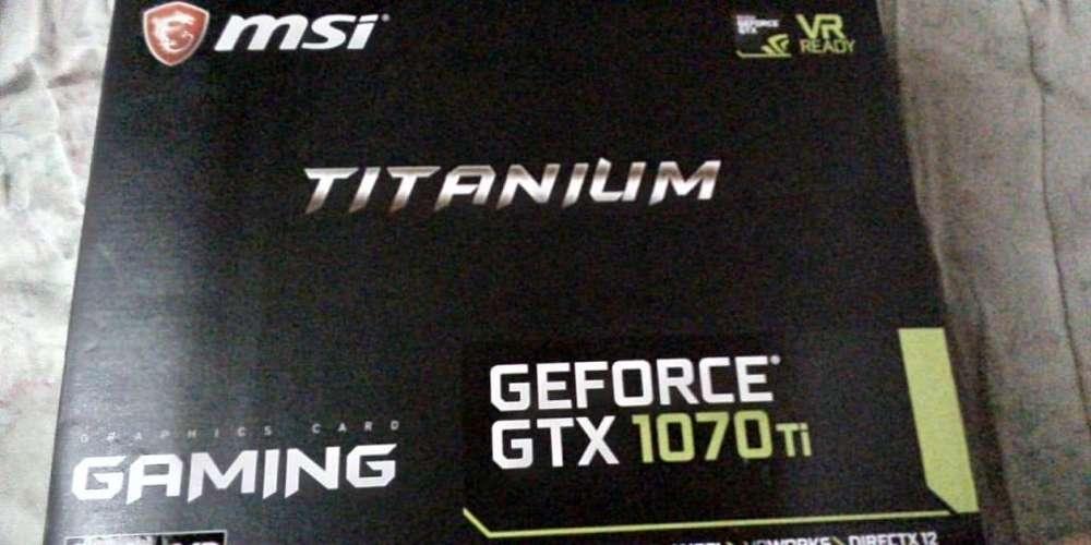 GTX 1070 TI Titanium