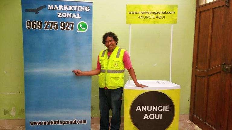 Banner Publicitario Movil descuento por mayor