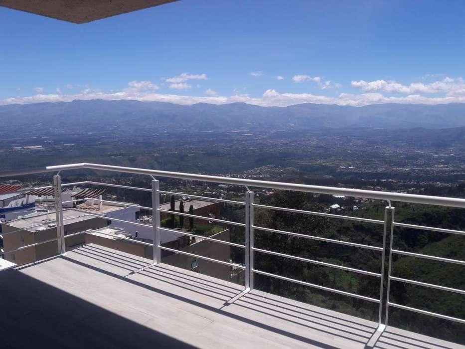 Arriendo departamento 153m con vista Monteserín SIERRA del MORAL 3 habitaciones