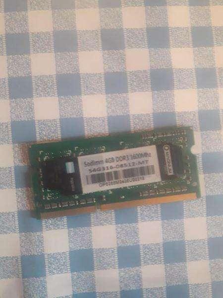 Memorias Notebook 4 gb varias marcas