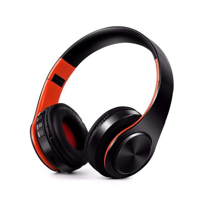 Auriculares Inalambricos Bluetooth 4.0 Plegables Entrada SD Radio FM Mini USB Bateria Cable