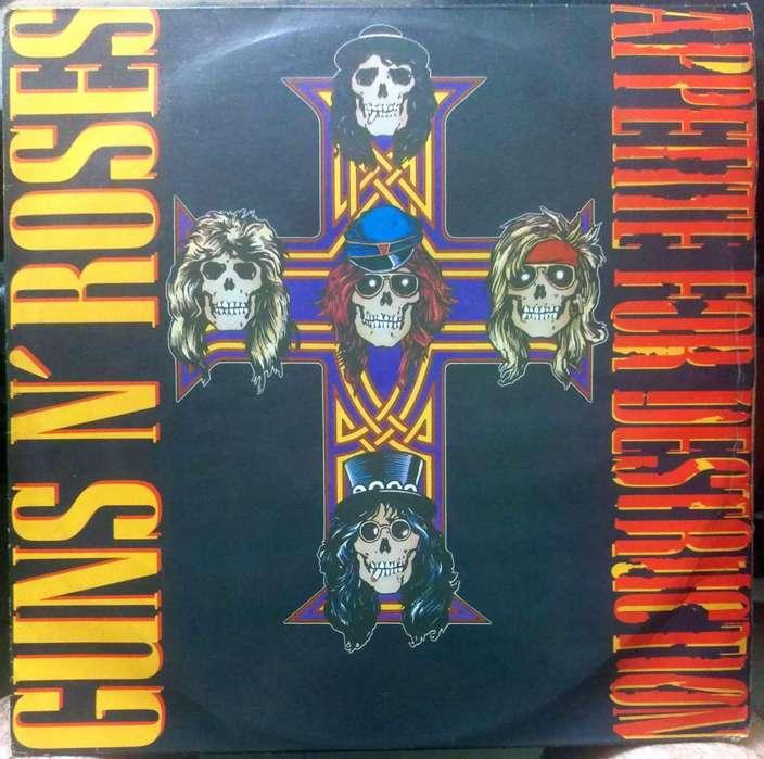 Guns N' Roses Appetite For Destruction LP vinilo Colombia