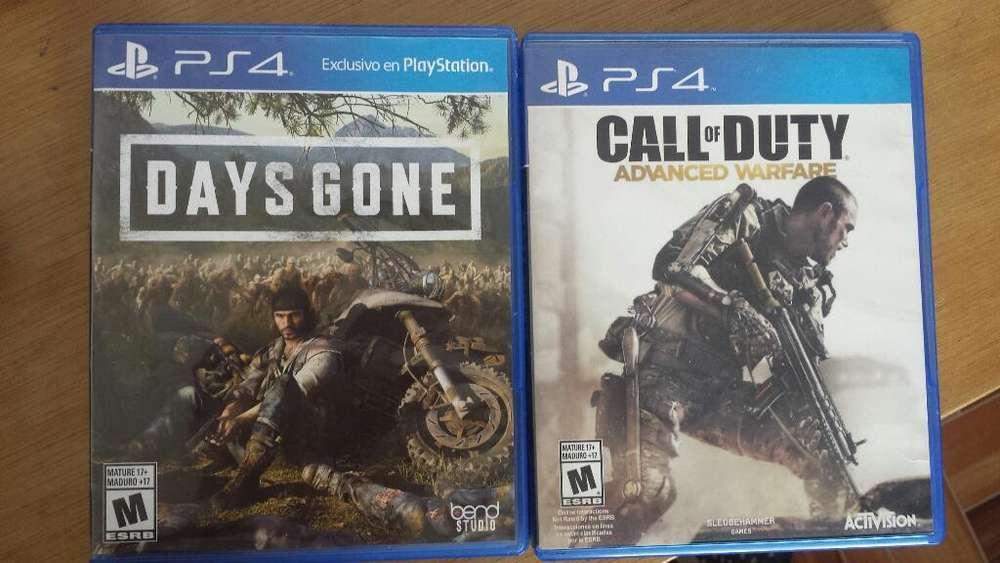 Days Gone Y Cal Of Duty Advanced Warfare
