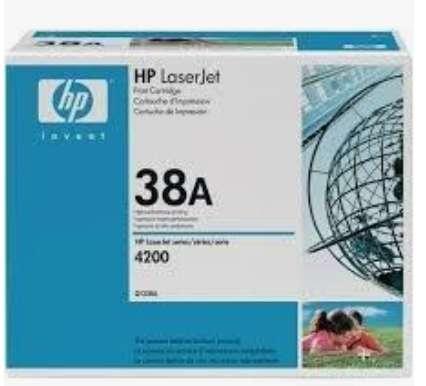 Toner HP nuevo y Original 38A