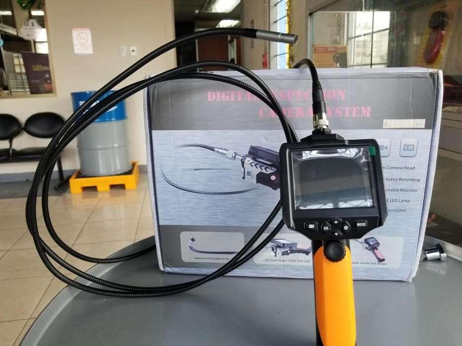 Boroscopio Cámara 7mm Cable 3m