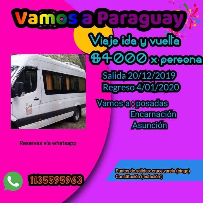 Viajes a Paraguay Y a La Costa