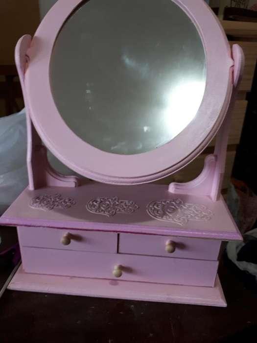 Espejo de Madera Pintado