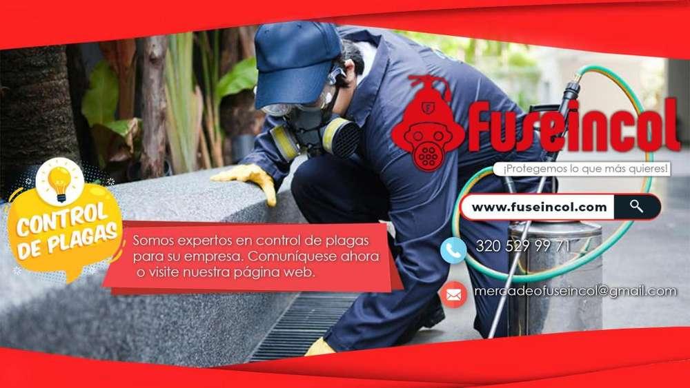 FUSEINCOL SERVICIO PROFESIONAL DE FUMIGACION Y CONTROL PLAGAS Tel - 3205299971