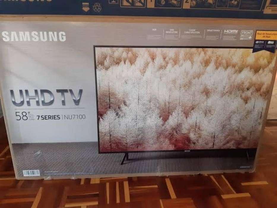 58nu7100 Samsung Smartv 4k Sellado Nuevo