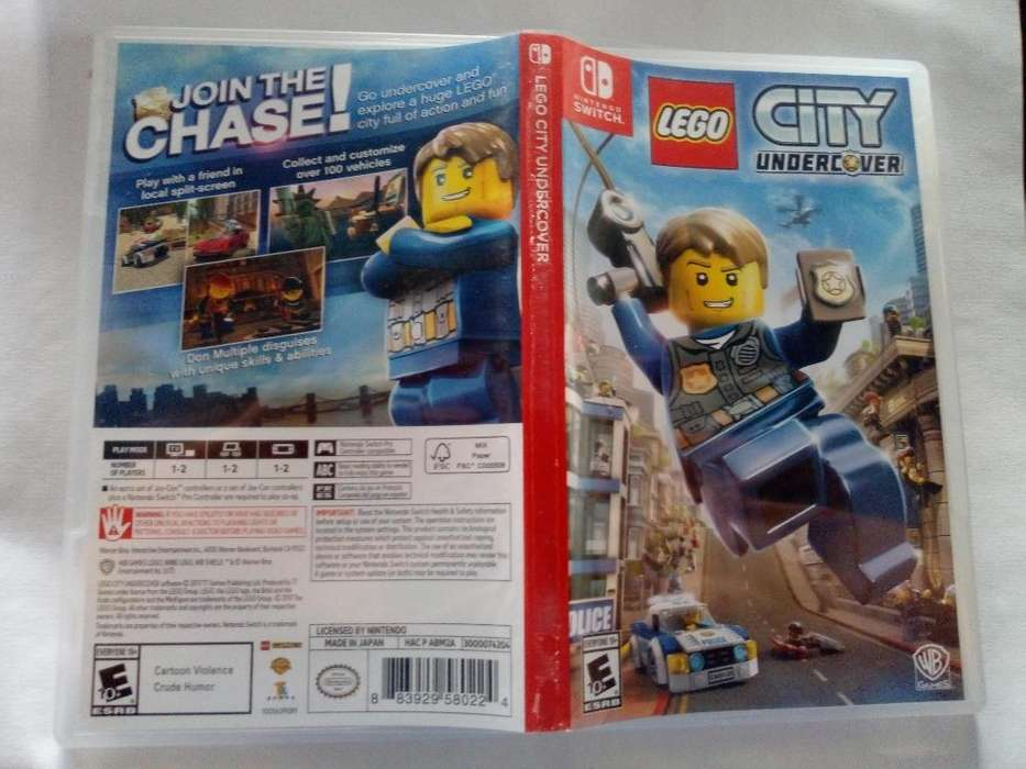 Lego City Nintendo Switch