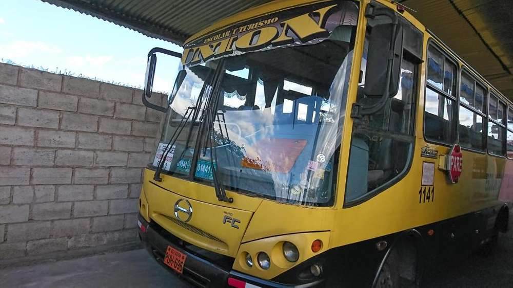 Vendo Bus Escolar Hino Fc 2007
