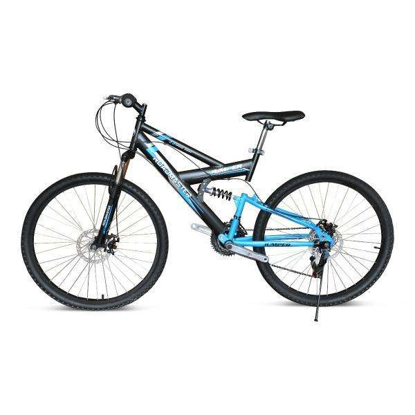Bicicleta Roadmaster Jumper 26 Doble Suspension Shimano Azul