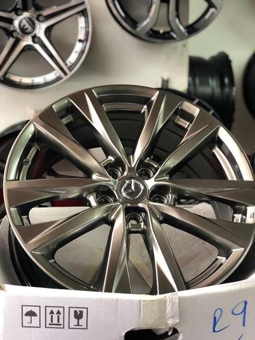 Rines de Lujo 18 5X114 Tipo Mazda
