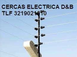 CERCAS ELÉCTRICAS PERIMETRALES Y CÁMARAS DE SEGURIDAD SERVICIO TÉCNICO CEL 3219021610