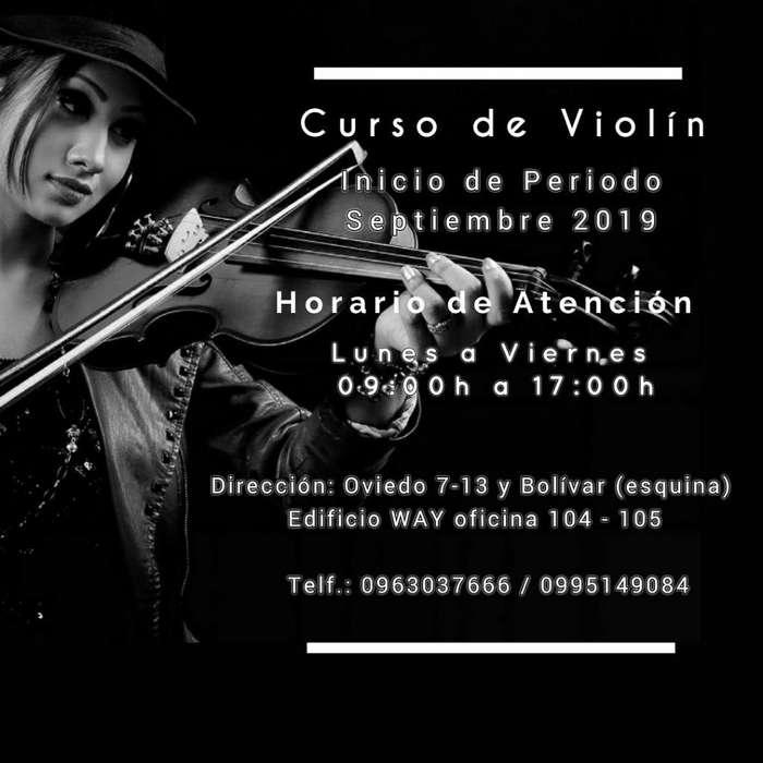 Tirio Te Invita a Sus Cursos de Violin