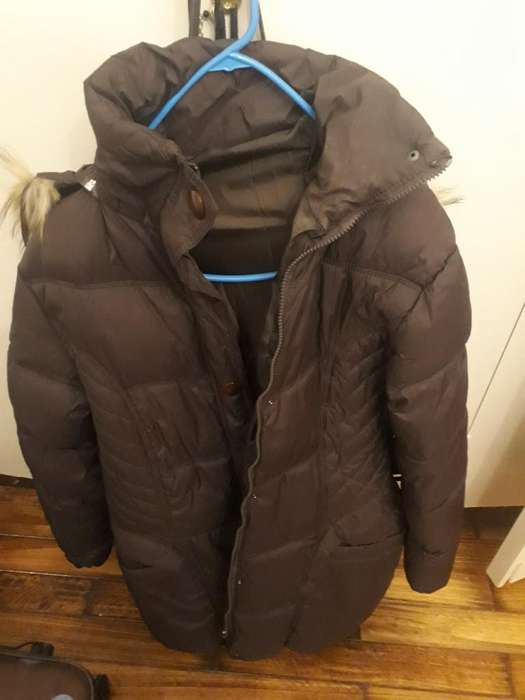 Campera Inflable Impermeable Mujer