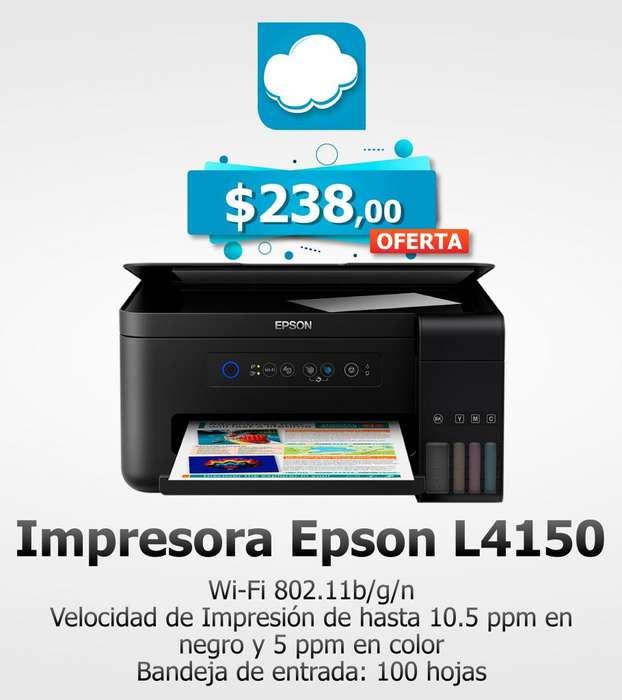 Impresora Epson L4150 multifunción Ecotank