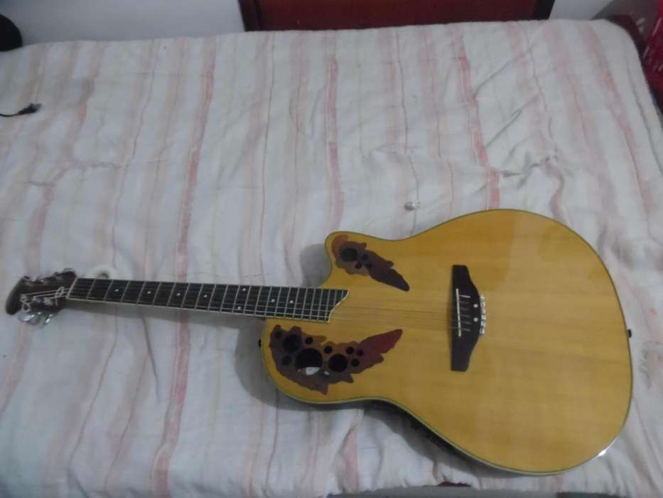 Guitarra Electroacústica Ovation Modelo Ae 148 Incluye Forro