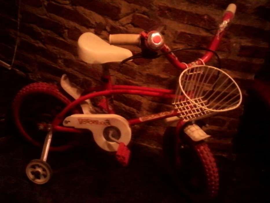BICICLETA RODADO 12 completa con accesorios igual a nueva, oferta!!! Leer DESCRIPCIÓN