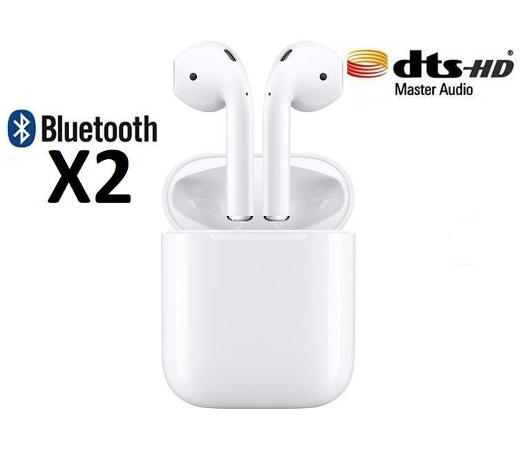 Audifonos inalambricos Airpods Bluetooth 4.2 Auriculares Iphone Android Nuevo