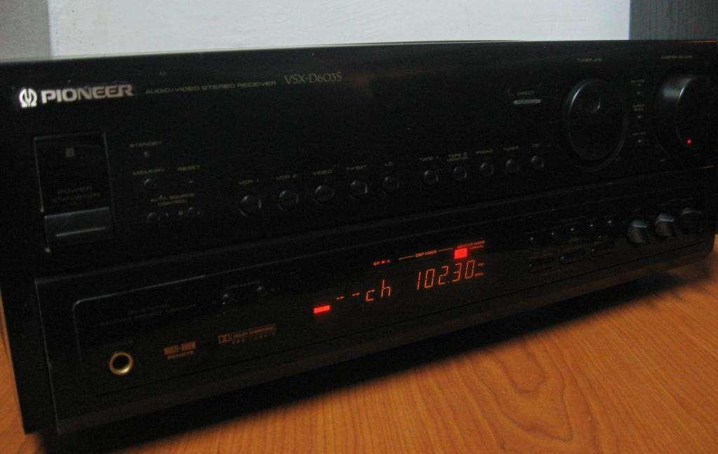 Sintoamp Pioneer Vsxd603s 260w 8 Ohm Phono Japan En Martinez