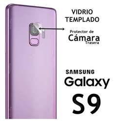 Funda Tpu Silicona Nano Film Vidrio Cámara Samsung S9