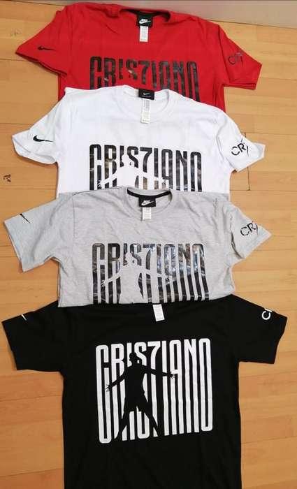 Camisetas Cr7 Varios Colores