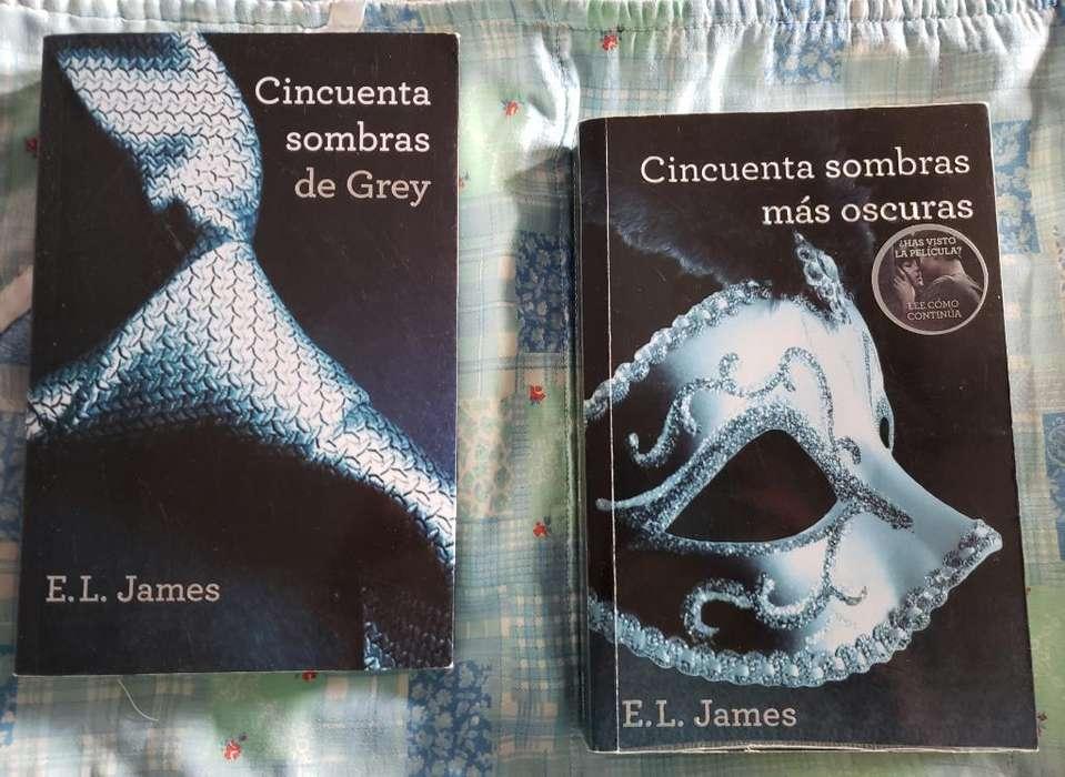 Libros 50 Sombras de Grey
