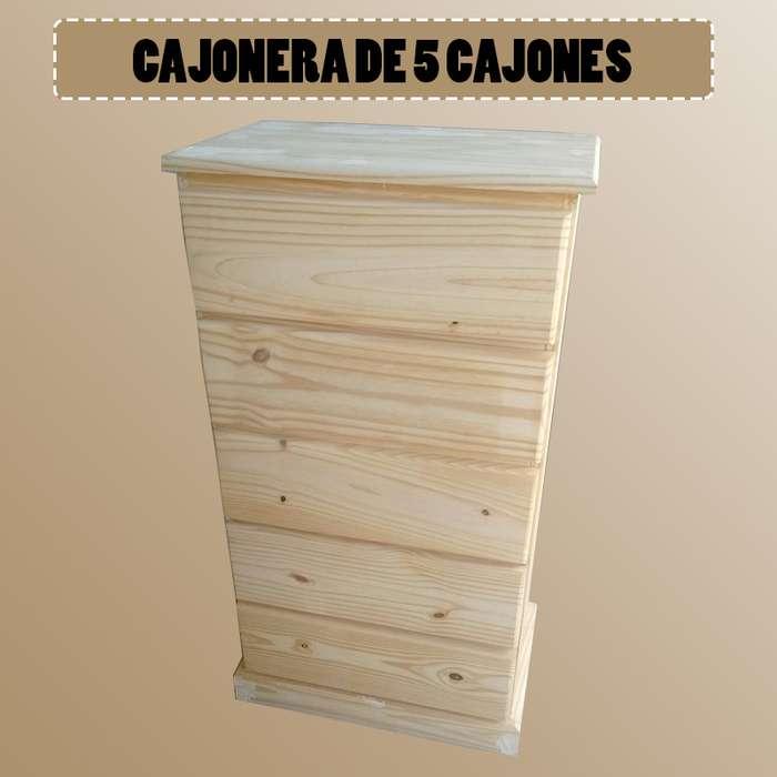 CAJONERA DE 5 CAJONES