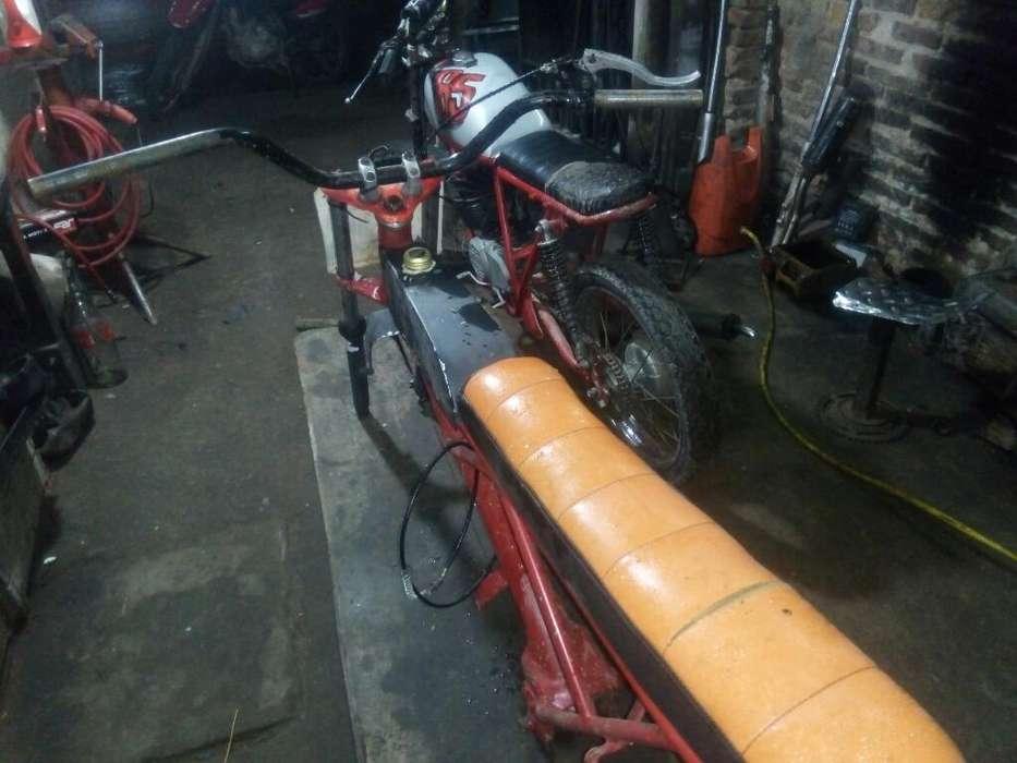 Chasis Moto de Ovalo