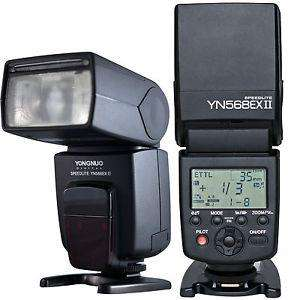 YONGNUO 568 FOR <strong>canon</strong> EX II CON TTL!