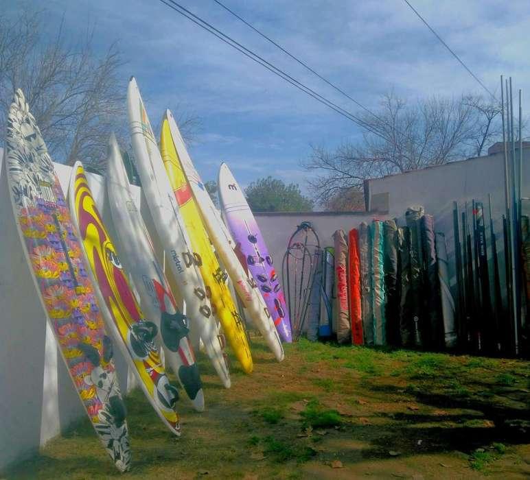 Vendo equipos de windsurf completos para principiantes