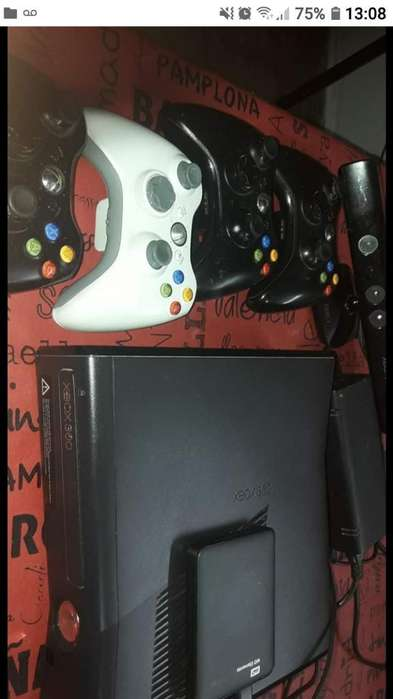 Vendo Xbox360 Chipiada con Memoria 26 Ju