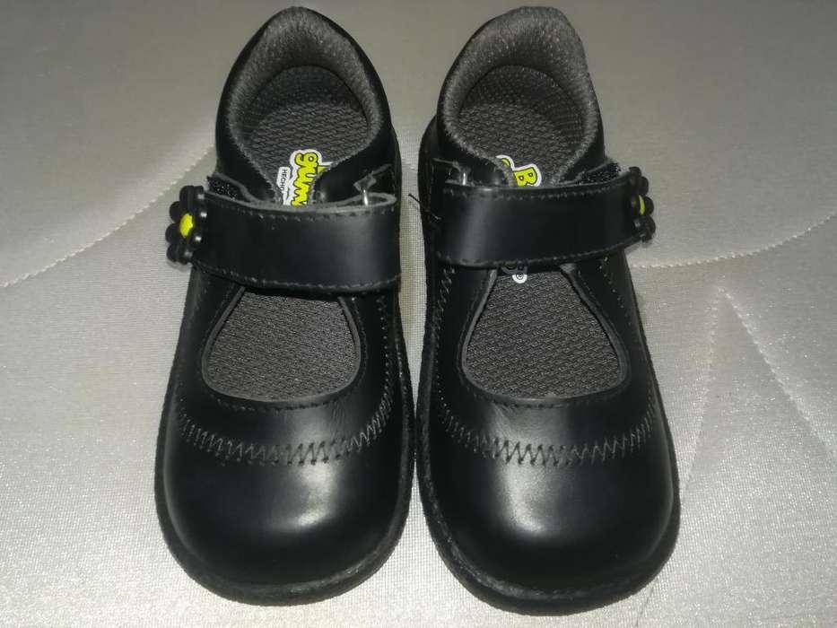 Zapatos Escolares Bubble Gummers Tall 23