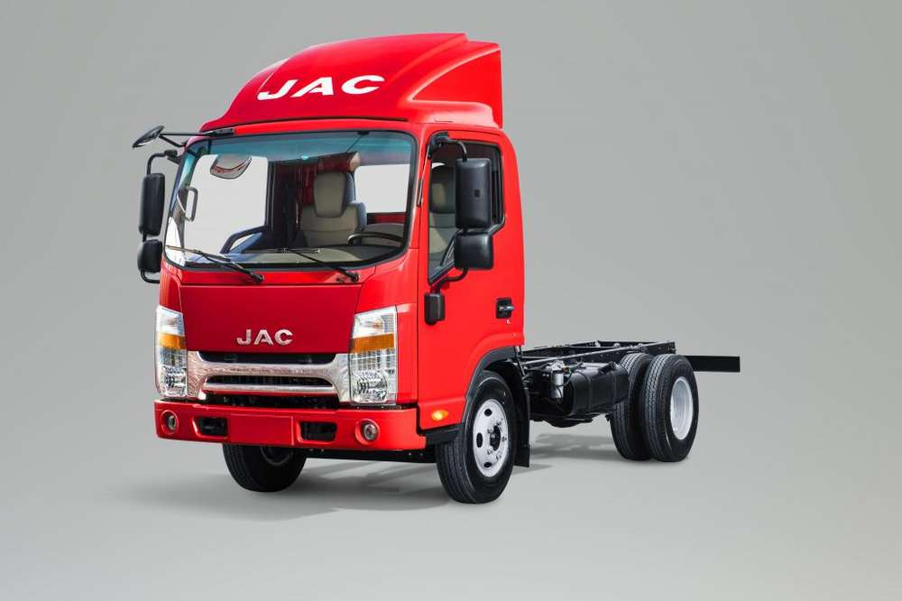 Camión JAC 3 Ton. con Chasis Cabina VIP Euro 4 - D300 CRDI CHC VIP E4 - N2