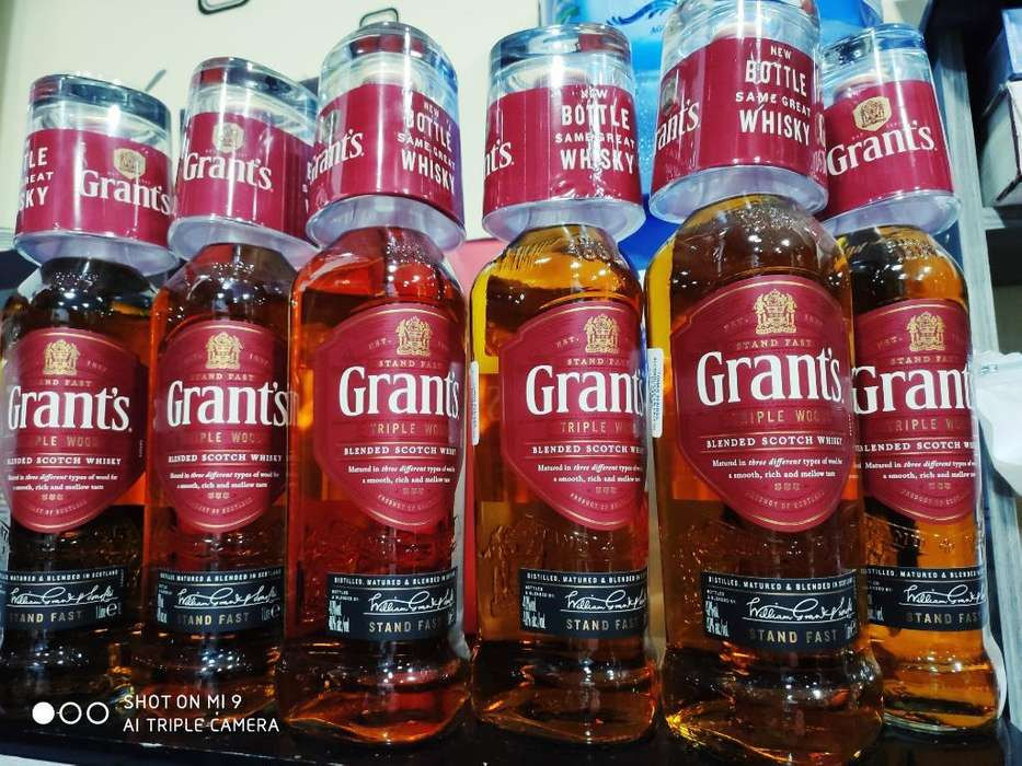 Whiskys Red Label Grant's
