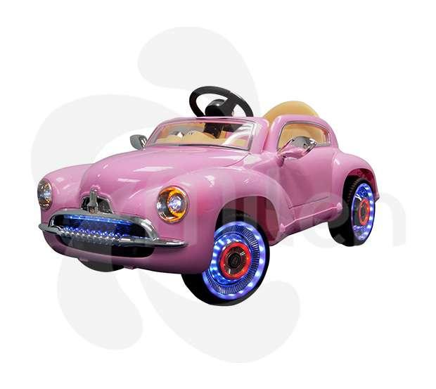 Modelo 1942 coche eléctrico niños, control remoto, USB/SD Musica
