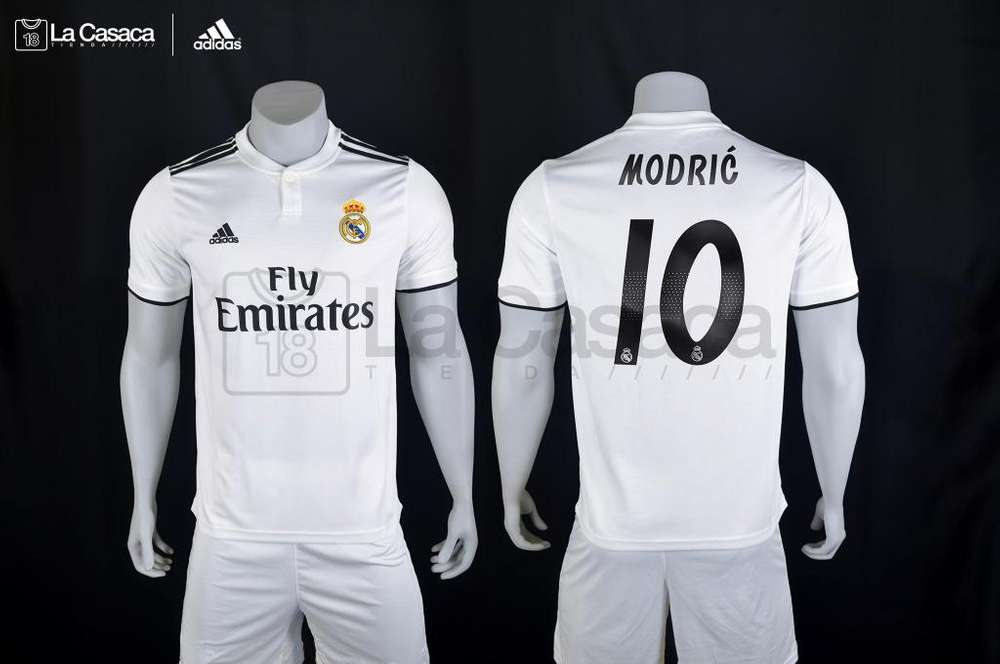 Nueva Camiseta Original Real Madrid 2018 2019 Modric Kroos Isco