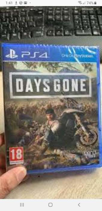 Days Gone Ps4 Nuevo Sellado