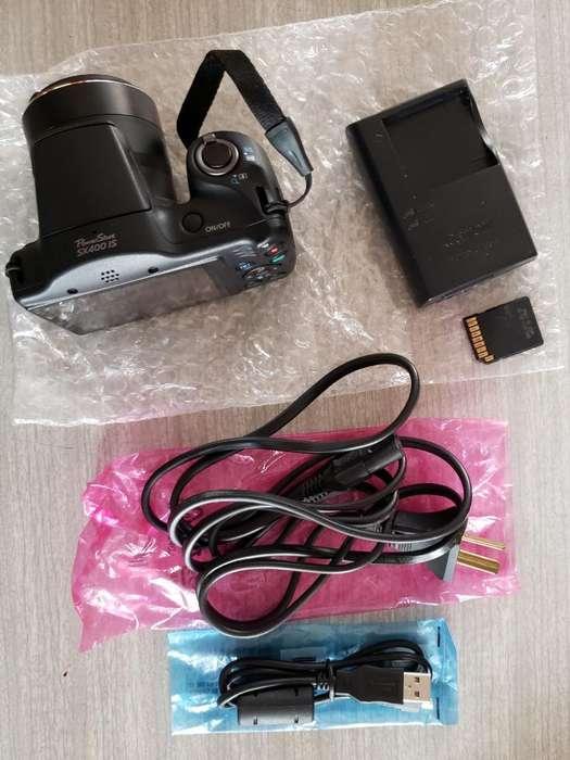 Vendo Camara Canon Pawer Shot Sx400 Is