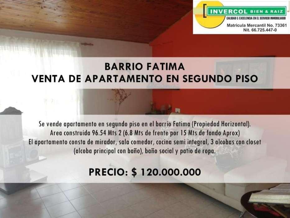 BARRIO FATIMA, VENTA DE <strong>apartamento</strong> EN SEGUNDO PISO