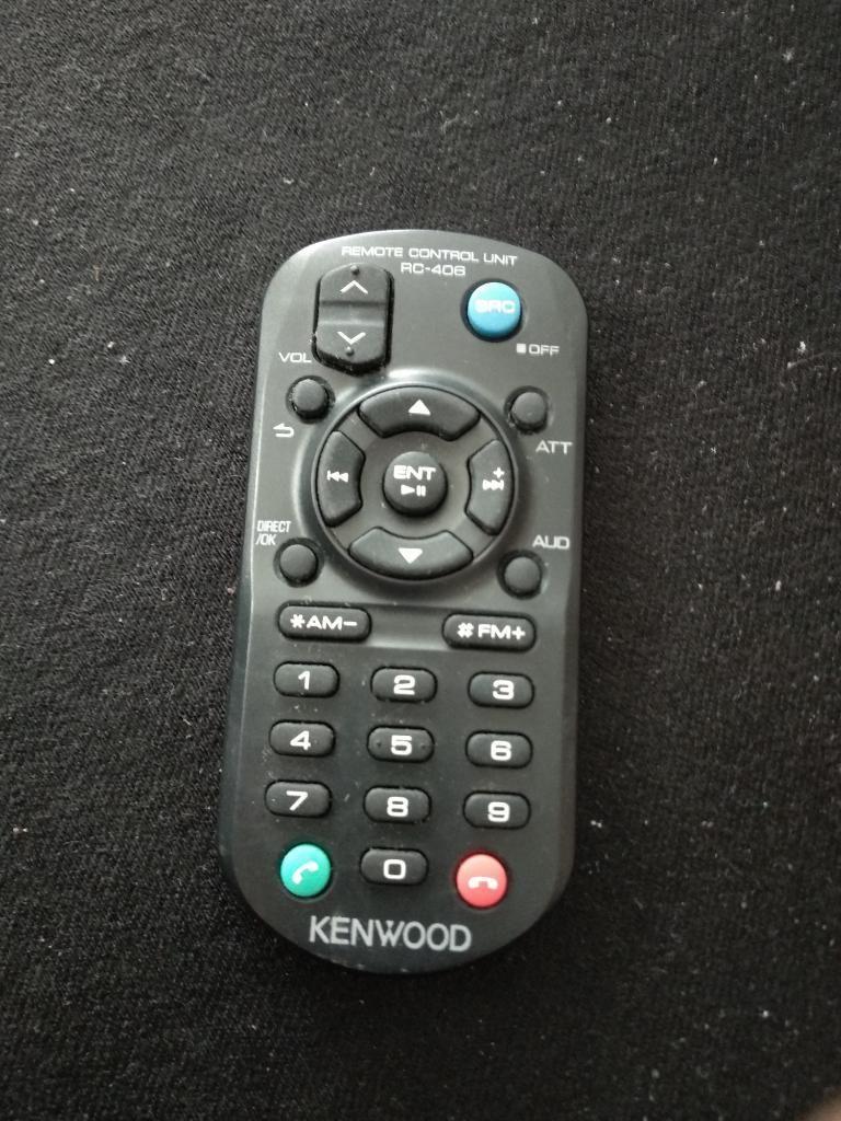 Control Kenwood Radio Pasacintas