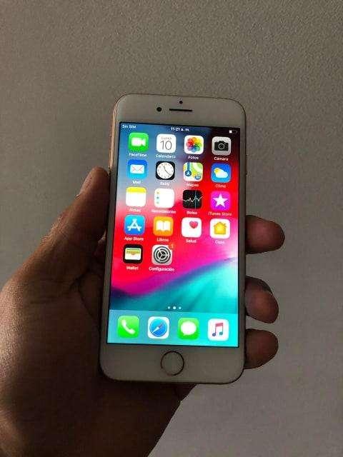IPHONE 8 DE 64 GB DORADO CAJA Y CARGADOR