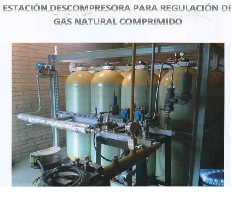 DESCOMPRESORA DE GAS NATURAL